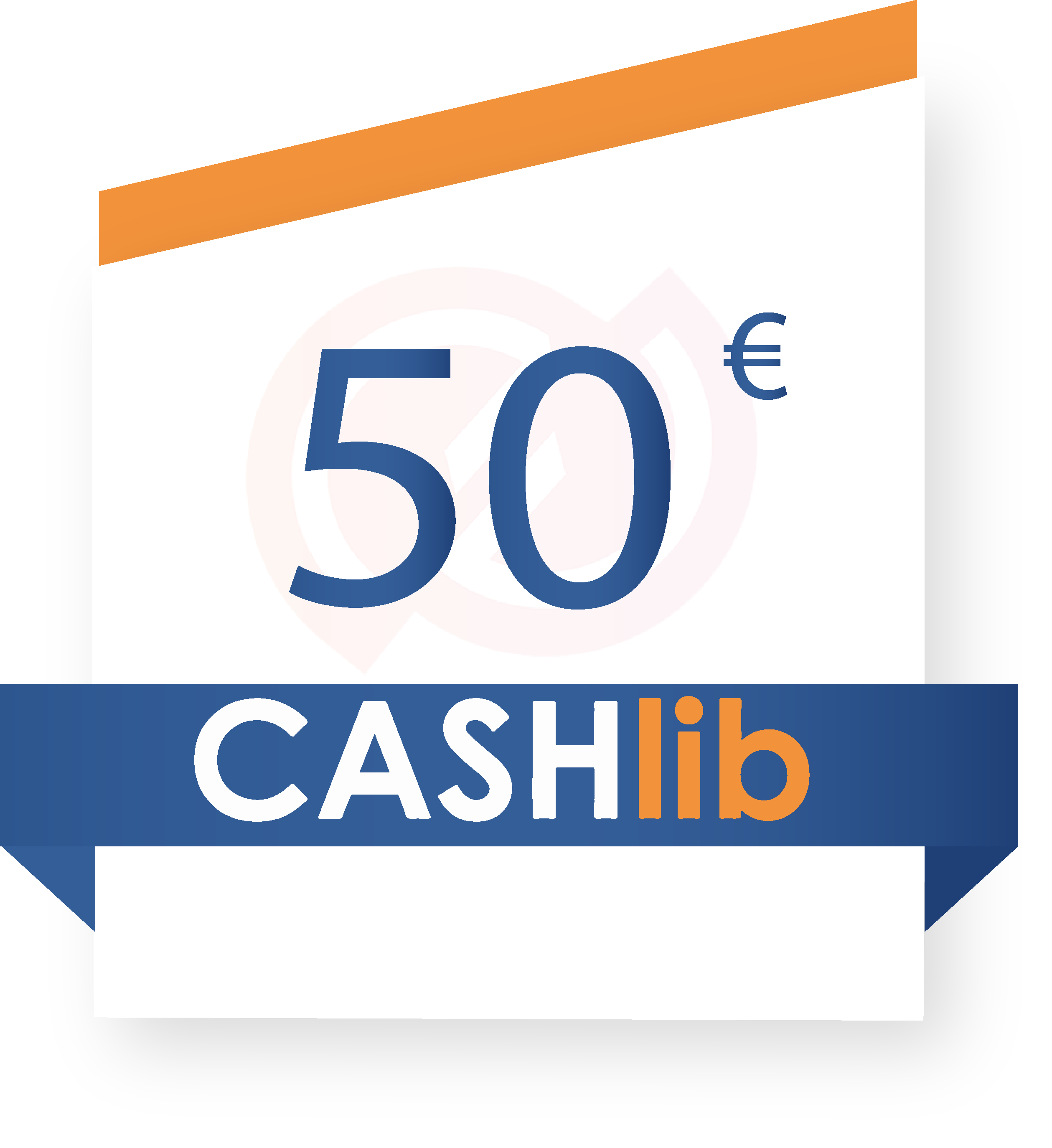 coupon Cashlib 50€