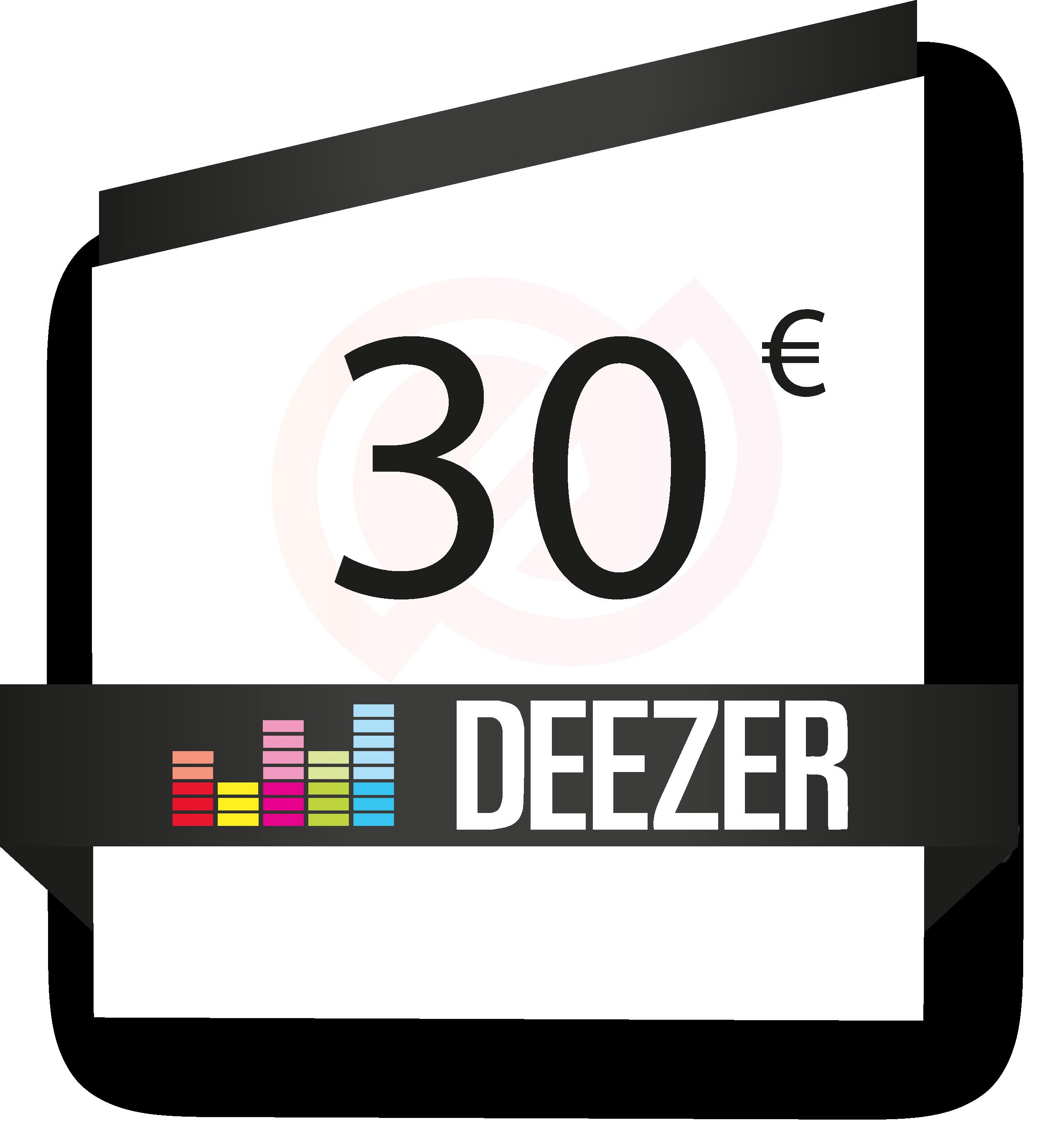 deezer-30-euros