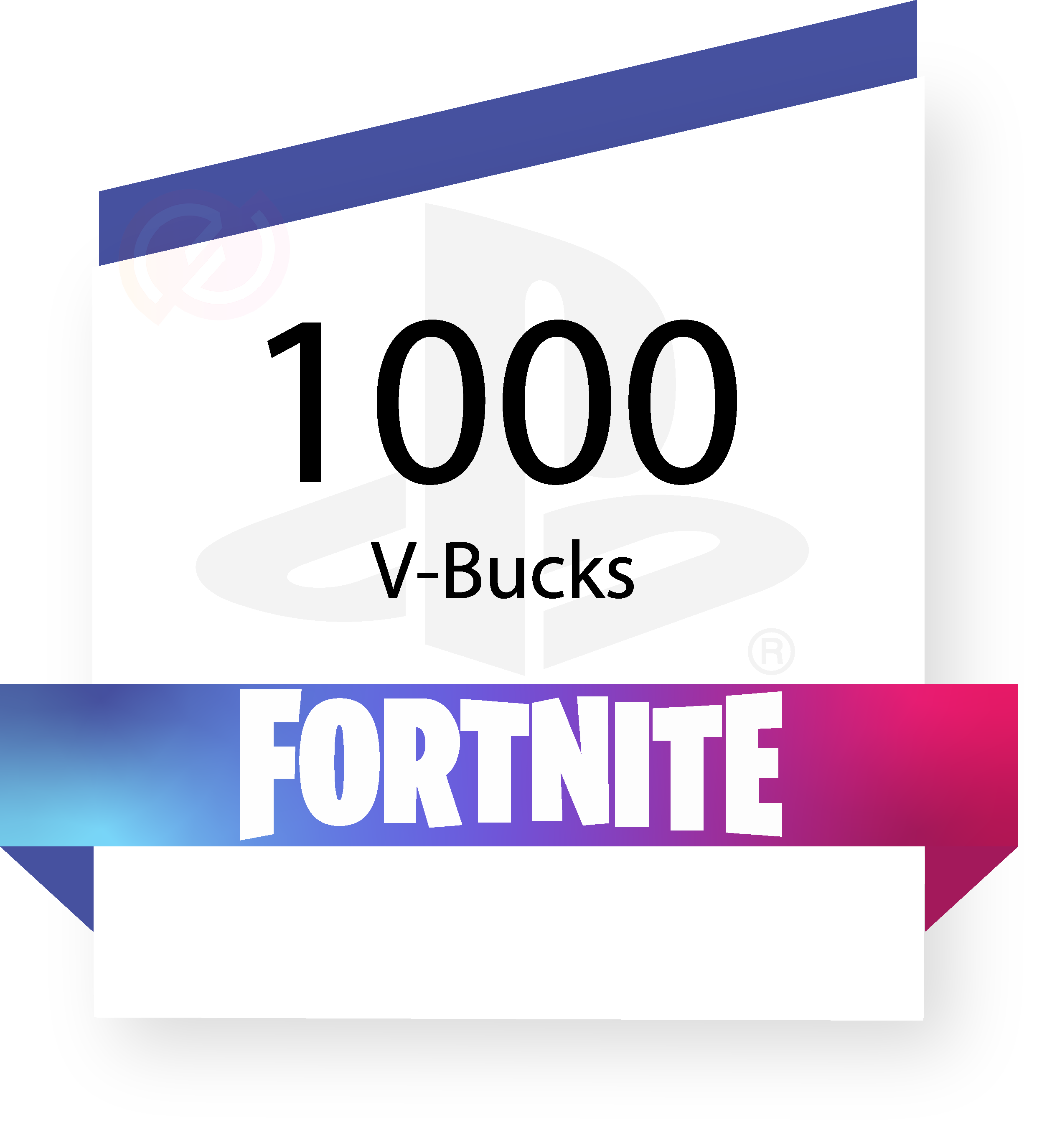 Coupon Fortnite - 1000 V-Bucks - PSN sur internet - Gueez