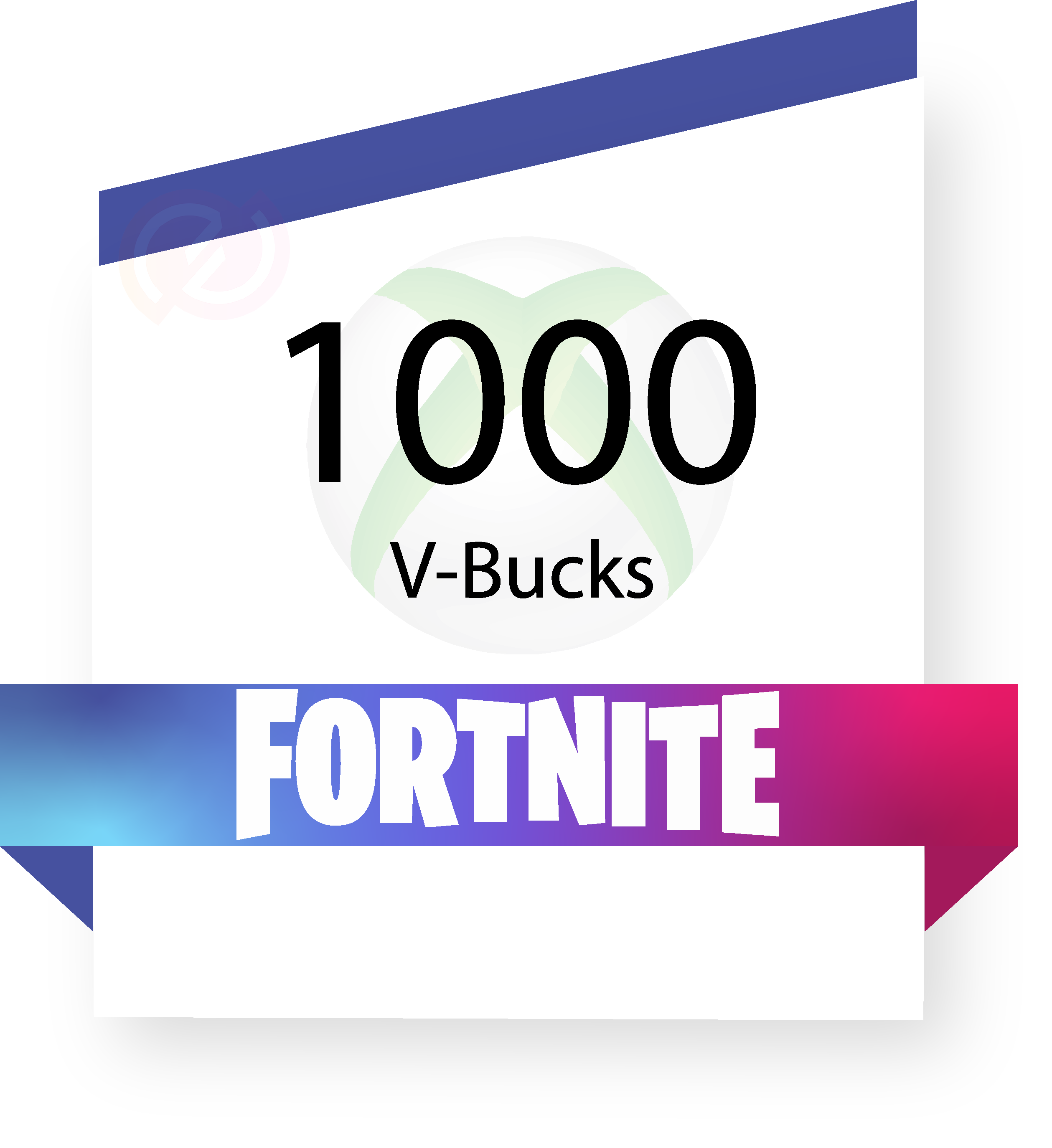 Coupon fortnite-1000vbucks-xbox