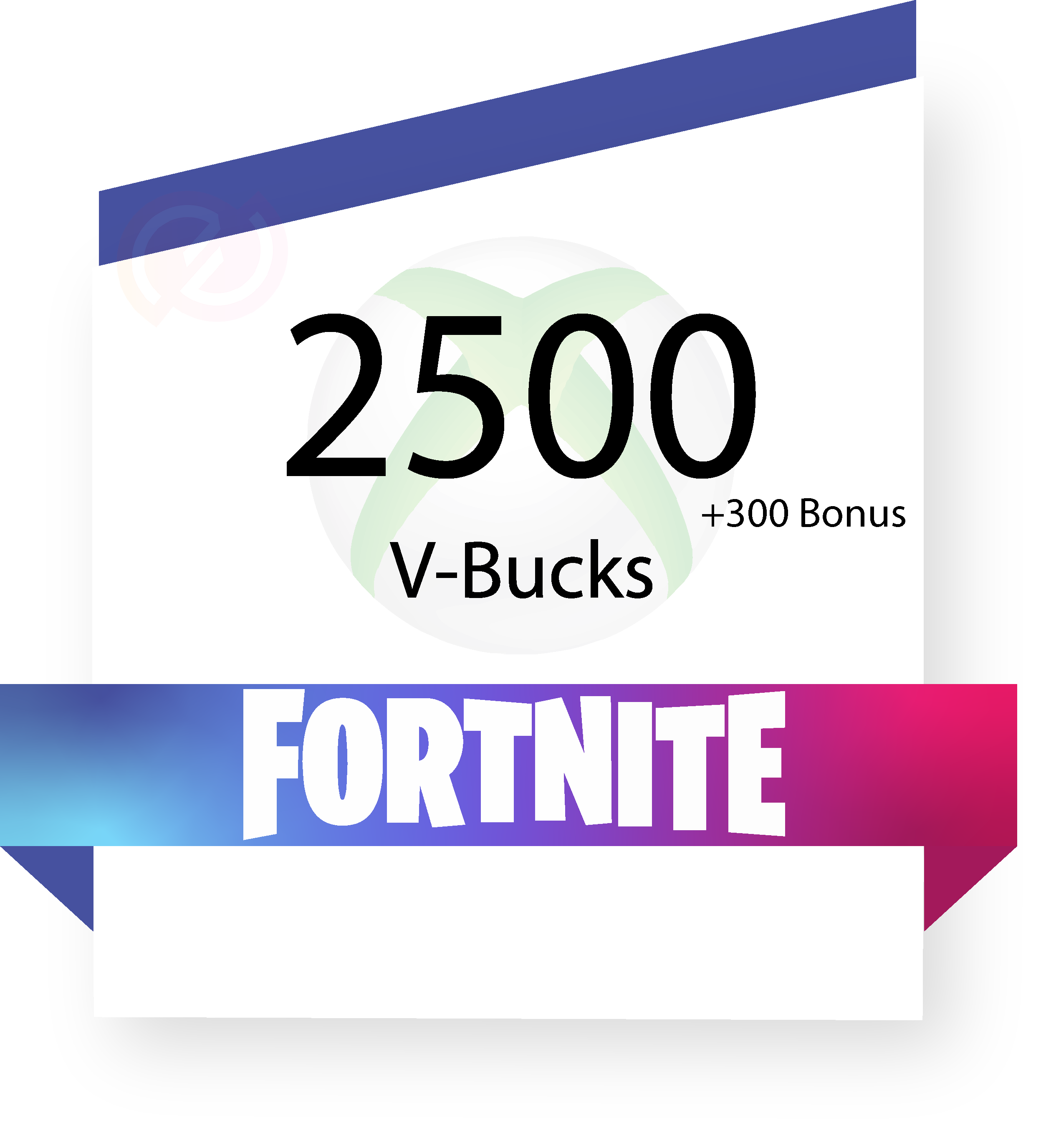 Coupon fortnite-2500vbucks-xbox