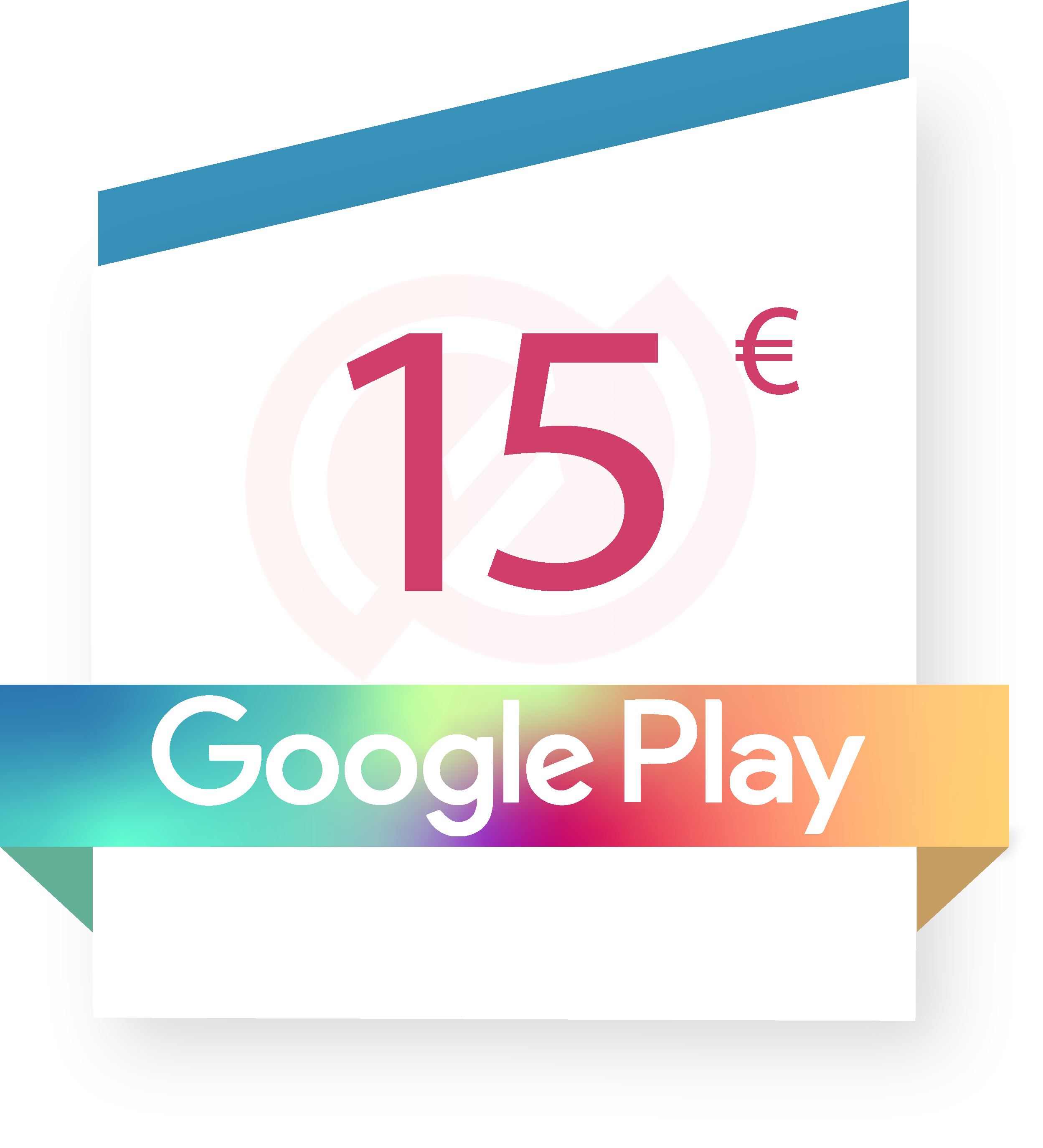 Coupon Google play 15€ sur internet - Gueez