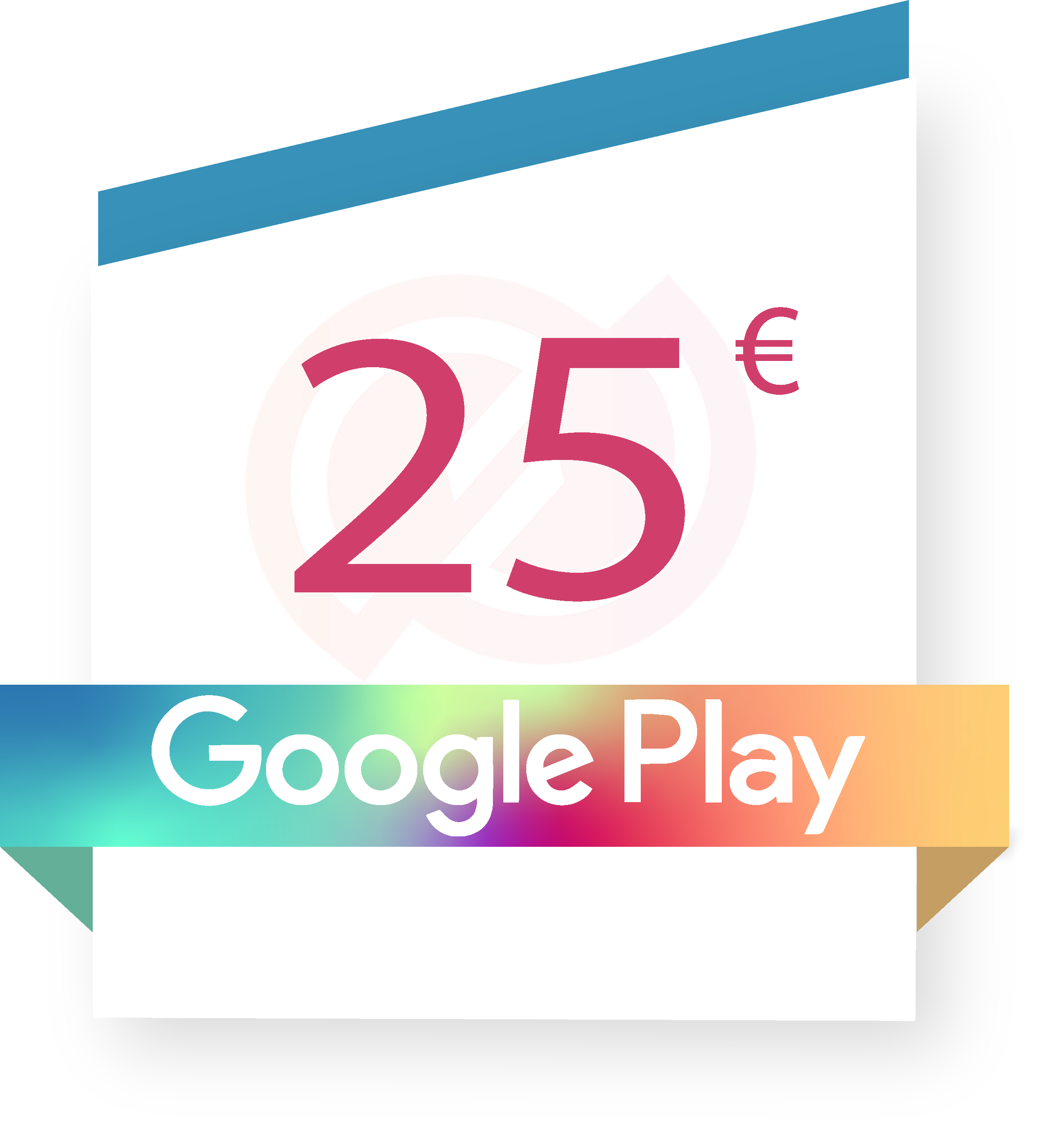 Coupon Google play 25€ sur internet - Gueez