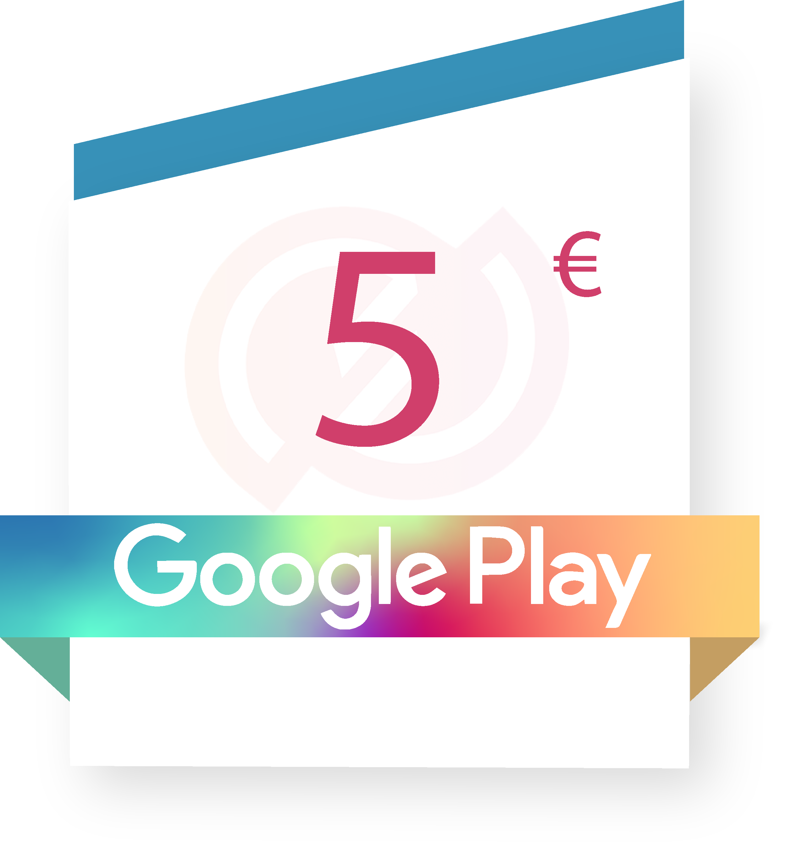 Coupon Google play 5€ sur internet - Gueez