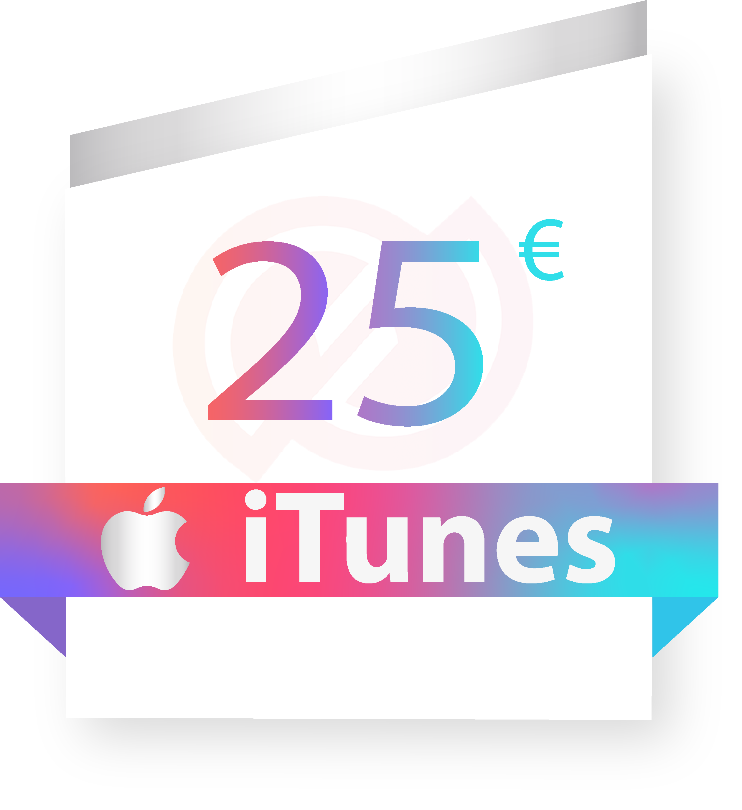 Coupon iTunes 25€ sur internet - Gueez