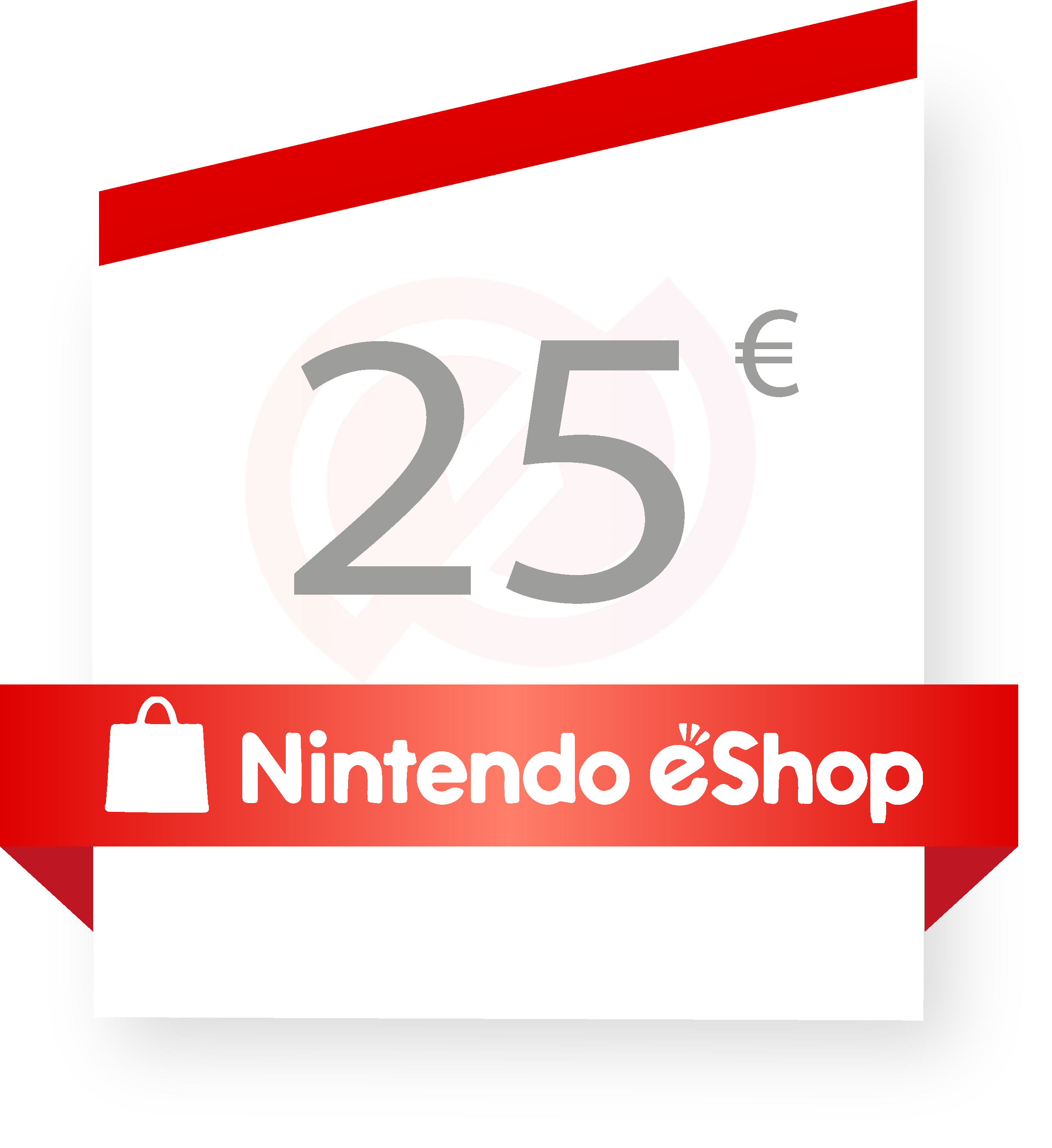 Coupon Nintendo e-shop 25€ sur internet - Gueez