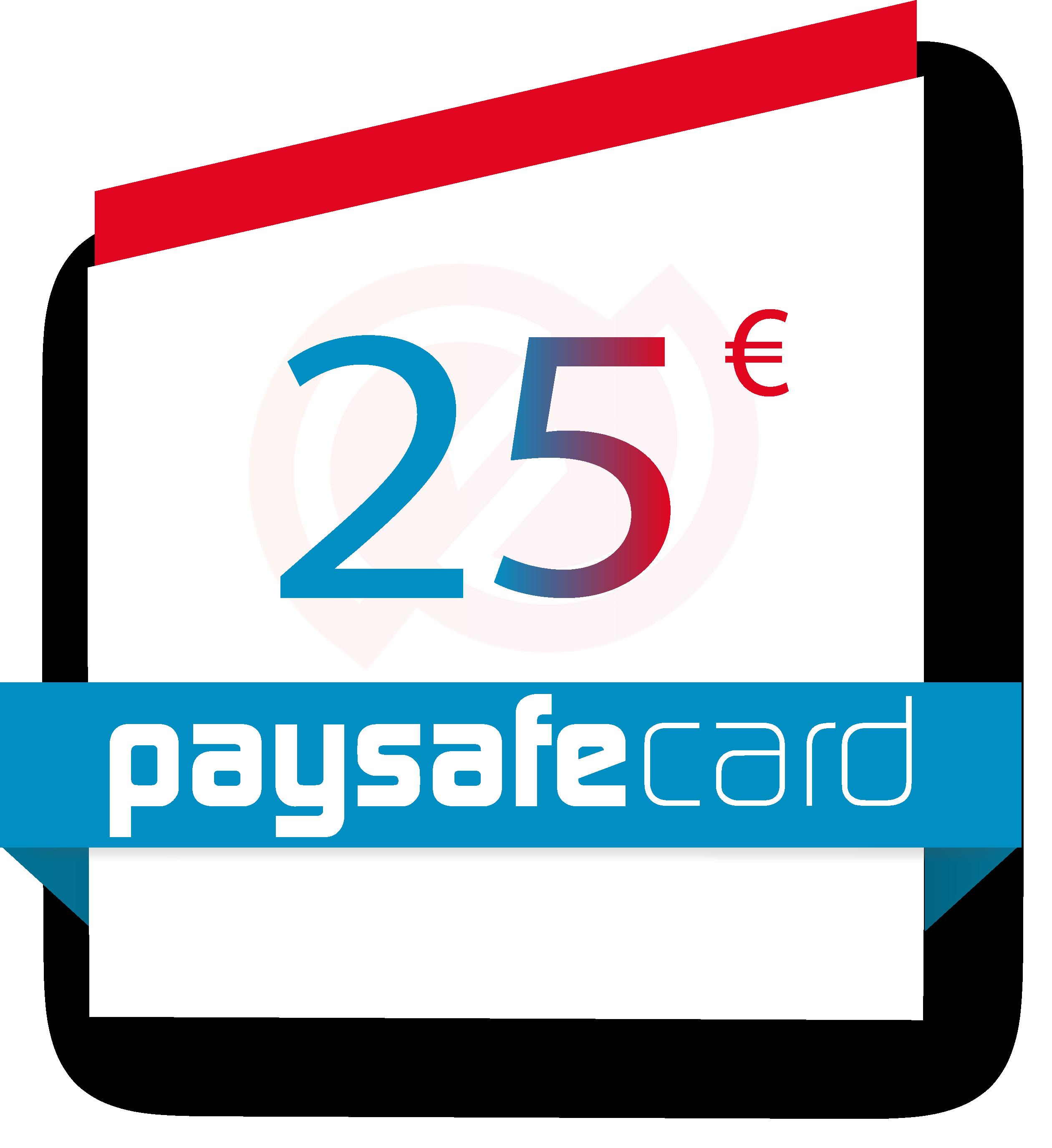 25 Paysafecard