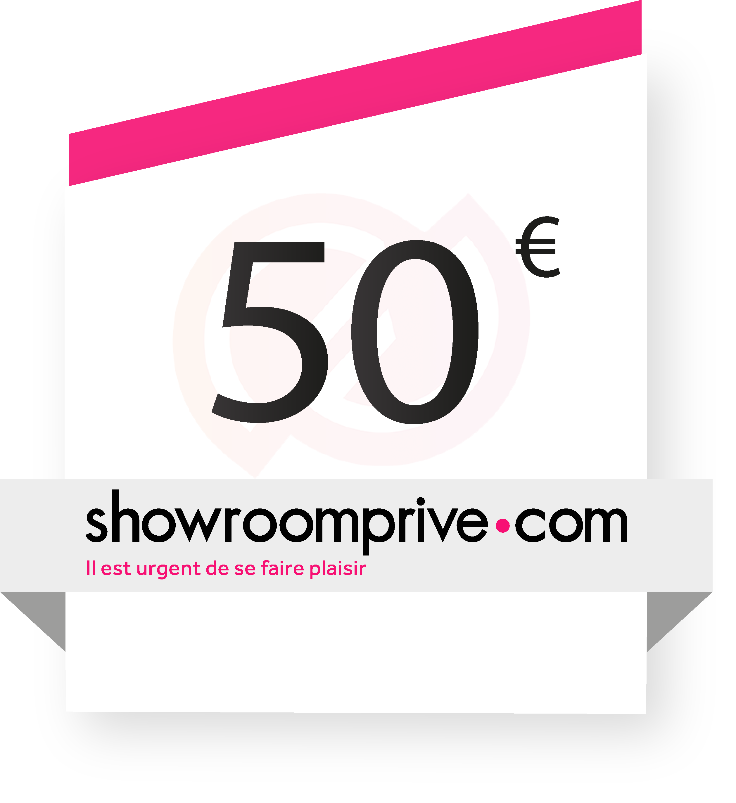 coupon Showroomprivé.com 50€